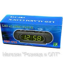 Часы Электронные VST 716 Green Сетевые!Акция, фото 3