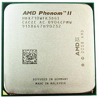 Процессор AMD Phenom II X3 710, 3 ядра 2.6ГГц, AM3