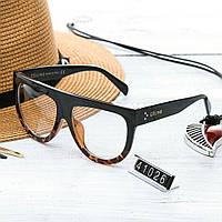 Женские брендовые очки Celine Селин с прозрачными стеклами
