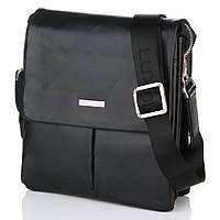 Мужская сумка из гладкой кожи Luxon