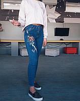 Джинсы Karol американка с вышивкой 410410