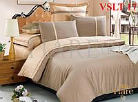 Постельное белье однотонное, сатин люкс Tiare, Вилюта. VSLT 17