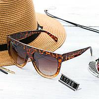 Женские брендовые очки Celine Селин коричневые, фото 1