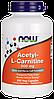 Now Acetyl-L-Carnitine 500 mg 200 veg caps