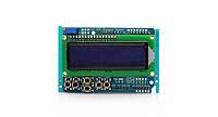 ЖК LCD 1602 16х2 модуль дисплей КНОПКИ, фото 1
