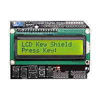 ЖК LCD 1602 16х2 модуль дисплей КНОПКИ