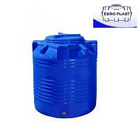 Пластиковая емкость 200 л вертикальная, двухслойная Euro Plast RVД 200