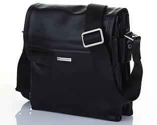 Мужская сумка из глянцевой кожи Luxon 8192-5A
