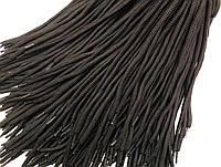 Шнурки для обуви (100см) круглые, черные (упаковка 36пар, Ø 5мм)