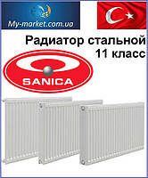 Радиаторы стальные sanica 11класс