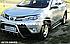 Боковые площадки в стиле Audi Q7 для Toyota Rav4 2013-2016, фото 5