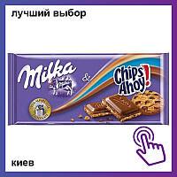 Шоколад Milka Chips Ahoy Милка Чипс Эхой, милка с печеньем