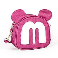 Сумочка детская Mickey Mouse ярко-розовая