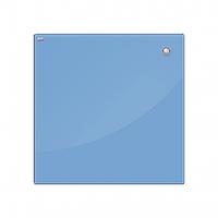 Доска стеклянная, маркерная, магнитная – 450х450 мм; код – TSZ4545N (голубая), фото 1