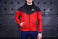Ветровка Nike, мужской виндраннер Найк (красный)