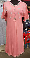 Ночная рубашка женская (туника) ромашка