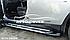 Подножки боковые для Дачия Дастер (в стиле Ауди Кю7), фото 5