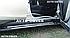Подножки боковые для Дачия Дастер (в стиле Ауди Кю7), фото 6