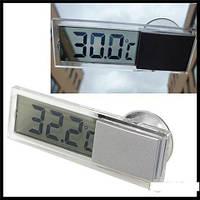 Цифровий термометр на лобове скло автомобіля