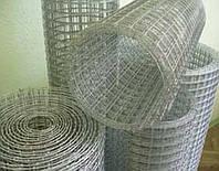 Сетка сварная штукатурная/для клеток оцинкованная 1,4 25х12 1х30 м