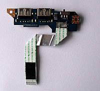 234 USB разъемы Lenovo S10-2 + Wi-Fi тумблер - KIUN0 LS-5071P NBX0000HF00