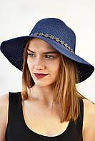 Шляпа Липари синяя
