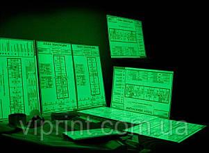 Фотолюминесцентный  план эвакуации 400х600
