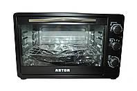 Мини-печь Astor CZ-1345В, электрическая мини-печь, духовка электрическая настольная, мини печь духовка