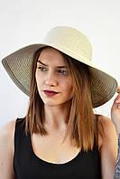 Шляпа Монтекристо серая