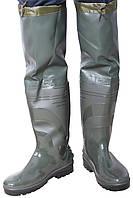 Сапоги резиновые KLARK с надставкой за колено 70 см.