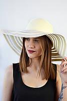 Шляпа Сицилия кремовая