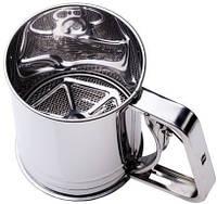 9749 Кружка-сито с двойным просеиванием 100*120 мм, кухонная посуда