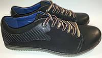 Туфли мужские эко-кожа p42-44 FORRA 14v181 черные