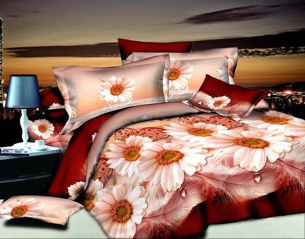 Постельное бельё двухспальное 180*220 хлопок (5466) TM KRISPOL Украина, фото 2