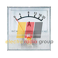 Амперметр стрелочный SF-48 шкала 0-20A с шунтом
