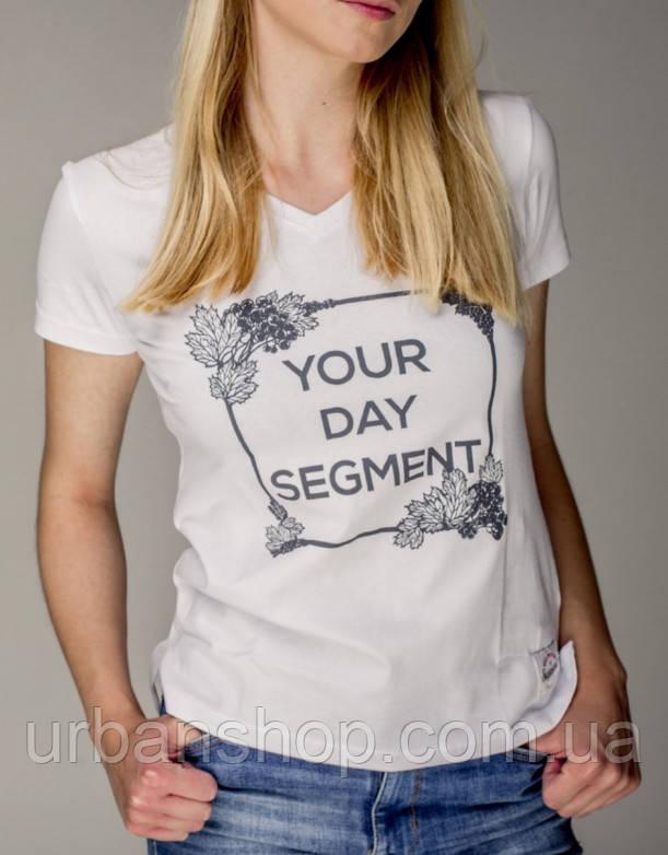 Футболка Your Day Segment женская