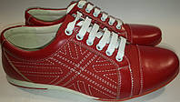 Туфли мужские эко-кожа p40-45 FORRA 13v219 красные