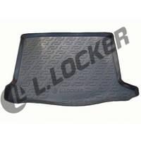 Резиновый коврик в багажник Renault Sandero 09-13  Lada Locer (Локер)
