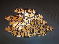 Номерок настенный под ключ, фото 1