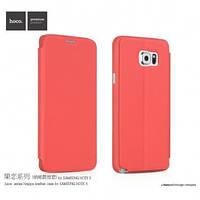 Чехол Hoco Juice Series Nappa для Samsung Galaxy Note 5 красный, фото 1