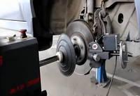 Проточка дисков (восстановление параллельности тормозных дисков) в Запорожье.