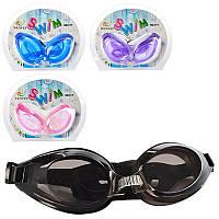 Очки для плавания с берушами MSW 012