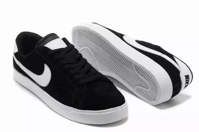 Кеды Nike Blazer Low Black Черные женские