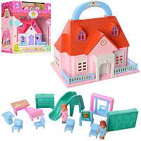 Домик для кукол с мебелью 8052