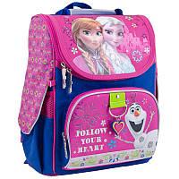 Рюкзак каркасный Frozen rose H-11 1 Вересня , 34х26х14 см