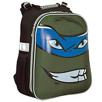 Рюкзак детский каркасный H-12 Turtles face, 38х29х15 см