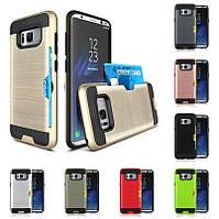 """Samsung G955F S8+ PLUS противоударный чехол оригинальный бампер панель накладка для телефона """"CREDIT SLIM"""""""