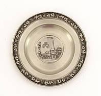 Коллекционная тарелка, Essen, олово, Германия, оловянный декор
