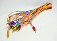 AUX кабель силиконовый 1,5 м, аудио-кабель