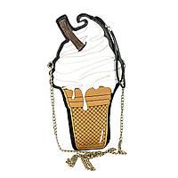 3D Клатч Мороженое с ремешком, фото 1